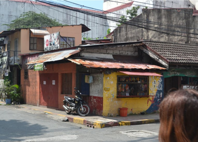 Intramuros Back Streets. Manila Tourism, Philippines, Southeast Asia