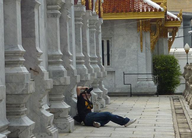 Wat Tri Thotsathep Worawihan Buddhist Temple, Bangkok, Southeast Asia