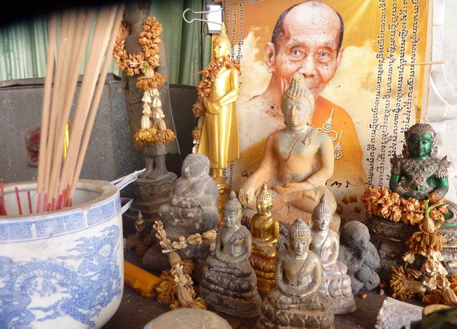 Phra Phuttha at Wat Tri Thotsathep Worawihan, Bangkok Southeast Asia