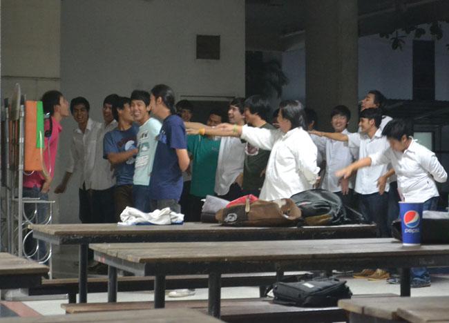 Fresher Hazings SPU University, Bangkok Student Life in Southeast Asia