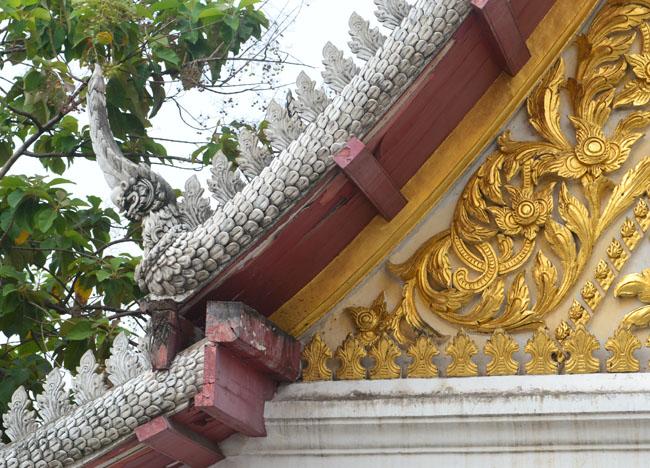Temple Wihan at Wat Tri Thotsathep Worawihan, Bangkok Southeast Asia