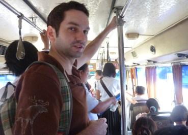 Bangkok Student Life - Sripatum University - Local Bangkok Bus
