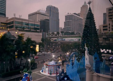 Bangkok Christmas Lights - Central Siam Area - Central World of Happiness 2012