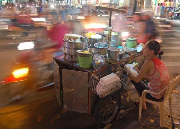 Weekend in Ho Chi Minh City Saigon - Blur of Motorbikes HCMC