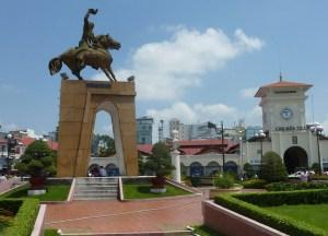 Statue Tran Nguyen Hai, Ho Chi Minh City Centre Saigon, Southeast Asia