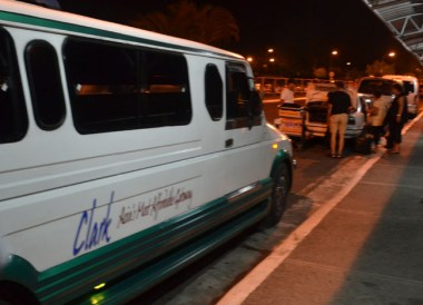 Angeles City Jeepney on Stopover at Clark Airport, Southeast Asia
