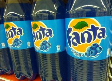 Blueberry Fanta Thailand - Est Cola - Thailand Soft Drinks