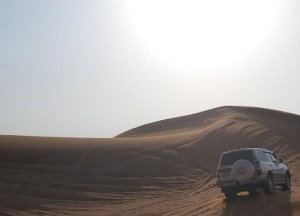 Dune Bashing in Dubai Desert. Travelling with Mum in Southeast Asia