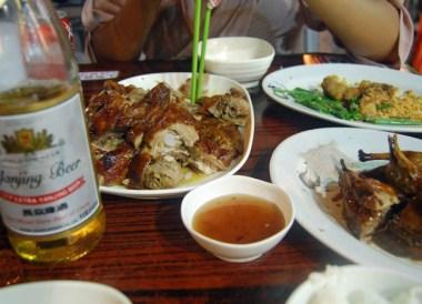 Squab and Yanjing Beer in Hong Kong, Southeast Asia, Best Beer in Asia
