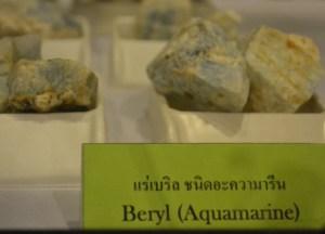 Beryl Aquamarine Stone, Bangkok Planetarium, Southeast Asia