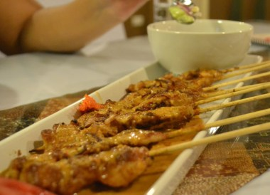Chicken Satay Sauce, Top Malaysian Food, Eating in Malaysia