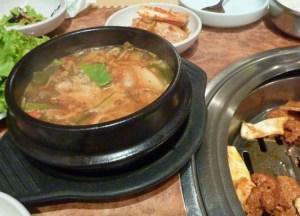 Korean Soup, You Rea Guan, Bangkok Korean Barbecues