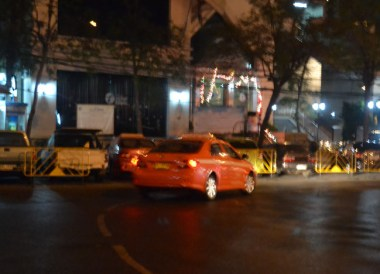 New Years Eve in Bangkok - Taxi Attack