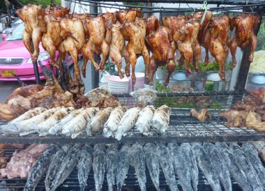Roadside Barbecues, Top Bangkok Street Food, Thailand Cheap Eats