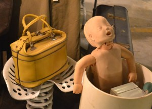Creepy Baby Doll, Bangkok Retro Market, Southeast Asia