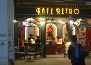 Kafe Retro at Rot Fai Market Bangkok, Southeast Asia