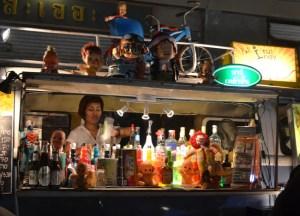 Retro Cocktail Bar, Bangkok Retro Market, Southeast Asia