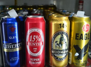 Corner Shops Selling Super Strong Beer in Malaysia, Southeast Asia