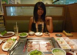 Bangkok Korean Barbecues, Times Square Grill, Sukhumvit Road