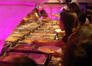 Food Buffet, Bangkok Dinner Cruise, Romantic Valentines Southeast Asia
