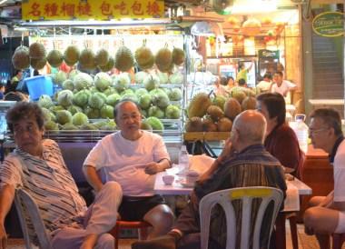 Malay Durian Vendor, Top Malaysian Food, Eating in Malaysia