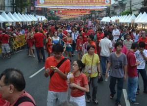 Growing Crowds, Chinese New Year in Bangkok Chinatown, Yaowarat