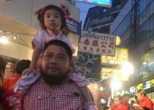 Family Fun, Chinese New Year in Bangkok Chinatown, Yaowarat