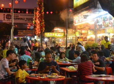 Jalan Alor KL, Wanderlust Travel Blog of the Year 2013, Southeast Asia