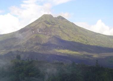 Mount Batur, Ulun Danu Batur Temple Ceremony, Ubud Bali Southeast Asia