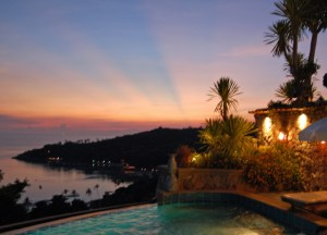 Sun Down at Ko Tao Resort, Top Romantic Koh Tao Hideaways