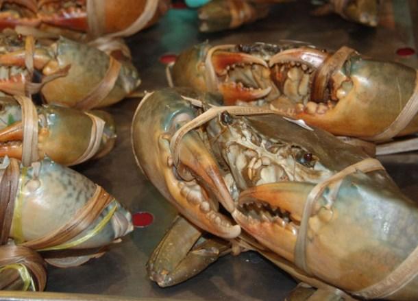 Fresh Crabs, Bangkok Chinatown, Eating Chinese Food, Southeast Asia