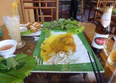 Vietnam Crepe, Banh Xeo An La Ghien, Vietnamese Food, Ho Chi Minh City
