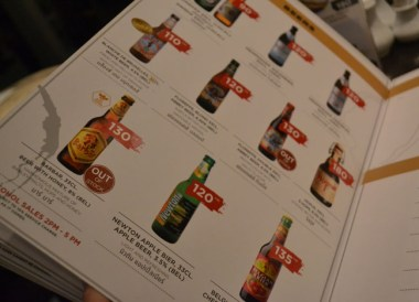 International Beers, Cost of living in Bangkok on a Budget, Sukhumvit area