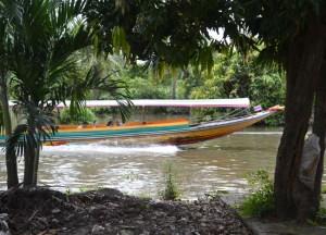 River Boat, Taling Chan Floating Market Bangkok, Southeast Asia