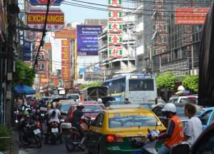 Yaowarat Road, Bangkok Chinatown, Eating Chinese Food, Southeast Asia