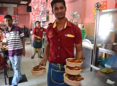 Biryani Food Georgetown Penang, Singapore to Bangkok Overland Island Hopping