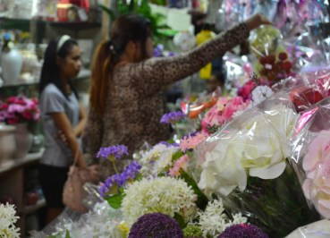 Fake Flowers, Sampeng Market, Little India Bangkok, Southeast Asia