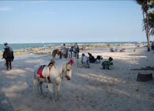 Hua Hin Beach, prachuap khiri khan thailand Southeast Asia