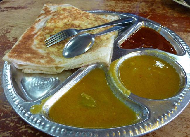 Roti Canai Malaysia Mamak Restaurants Malay Indian Food Southeast Asia