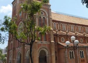 Saigon Notre-Dame Basilica, Ho Chi Minh City Centre, Southeast Asia