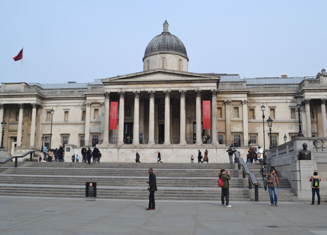 National Gallery Museum, London Stopover, Cheap and Free Attractions