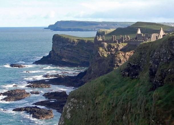 Dunluce Castle Causeway Coast, Top 10 Northern Ireland Attractions NI