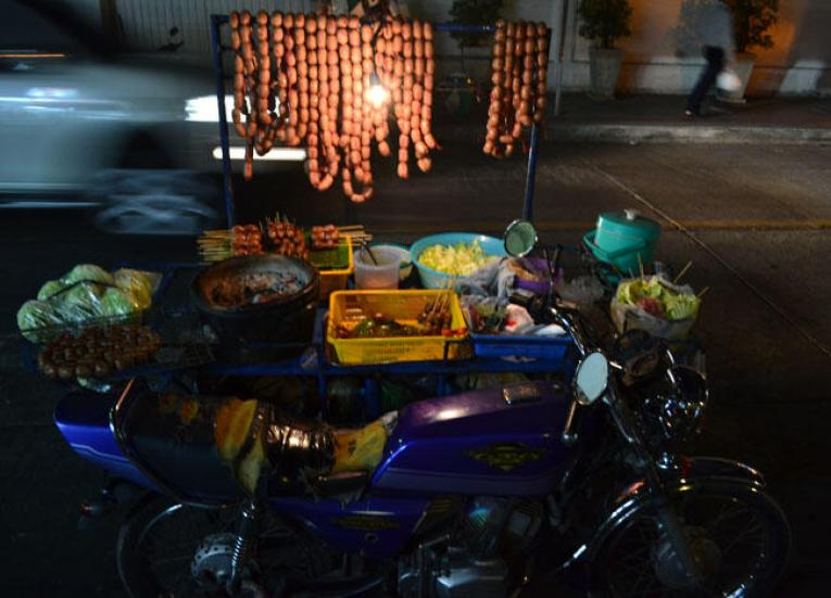 Isan Sausages Bangkok, Is Street Food Safe? Eating in Southeast Asia