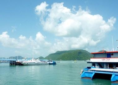 Kuah Pier Langkawi, Singapore to Bangkok Overland Island Hopping