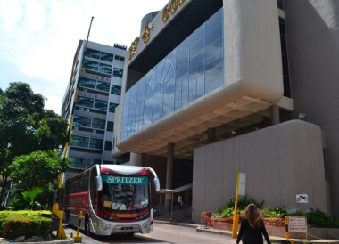 Golden Mile Complex Bus, Singapore to Bangkok Overland Island Hopping