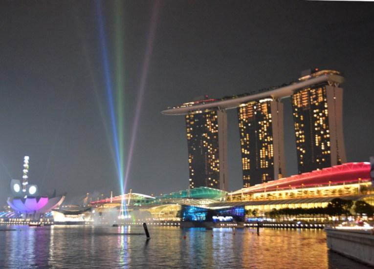 Marina Sands Skypark, Singapore to Bangkok Overland Island Hopping