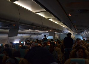 Airplane Cabin, Survival Guide to Long Haul Flights, Flying to Asia