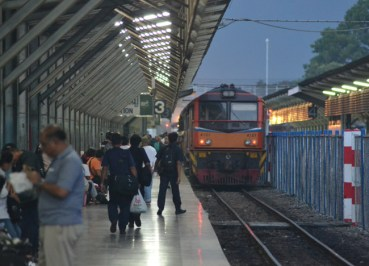 Hat Yai Train Station, Singapore to Bangkok Overland Island Hopping