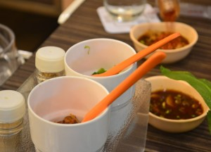 Chilli Dip Condiments, Thai Hot Pots in Bangkok, Jim Jum, Joom Zap Hut