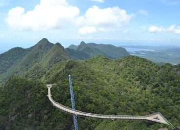 Langkawi Cable Car, Singapore to Bangkok Overland Island Hopping
